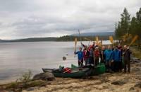 Ungdomslaget kanotur 2